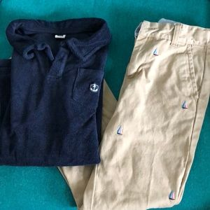 Boys Janie and Jack outfit